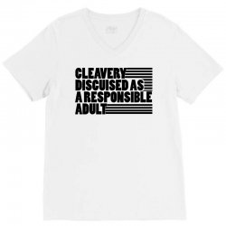cleverly disguised V-Neck Tee | Artistshot