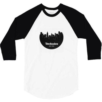 Technics 1 3/4 Sleeve Shirt Designed By Macarirro