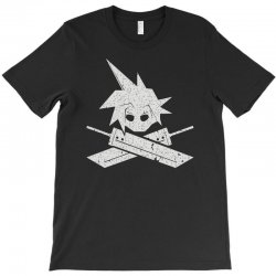 cloud and crossbusters T-Shirt | Artistshot
