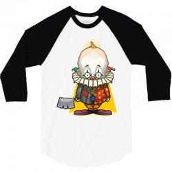clown. 3/4 Sleeve Shirt | Artistshot