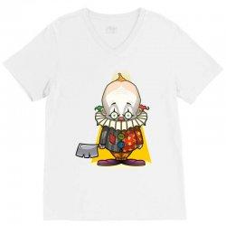 clown. V-Neck Tee | Artistshot