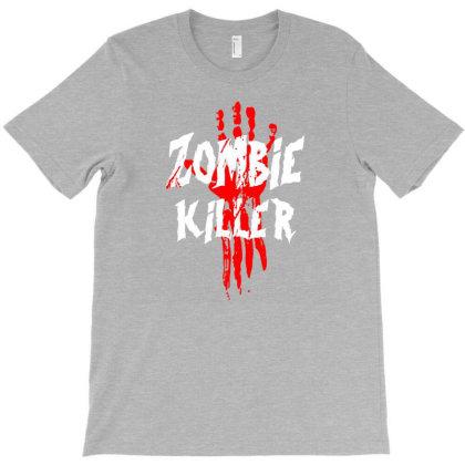 Zombie Killer T-shirt Designed By Lotus Fashion Realm