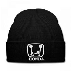 Honda Dope embroidered hat Knit Cap   Artistshot
