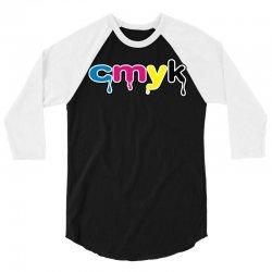 cmyk 3/4 Sleeve Shirt | Artistshot