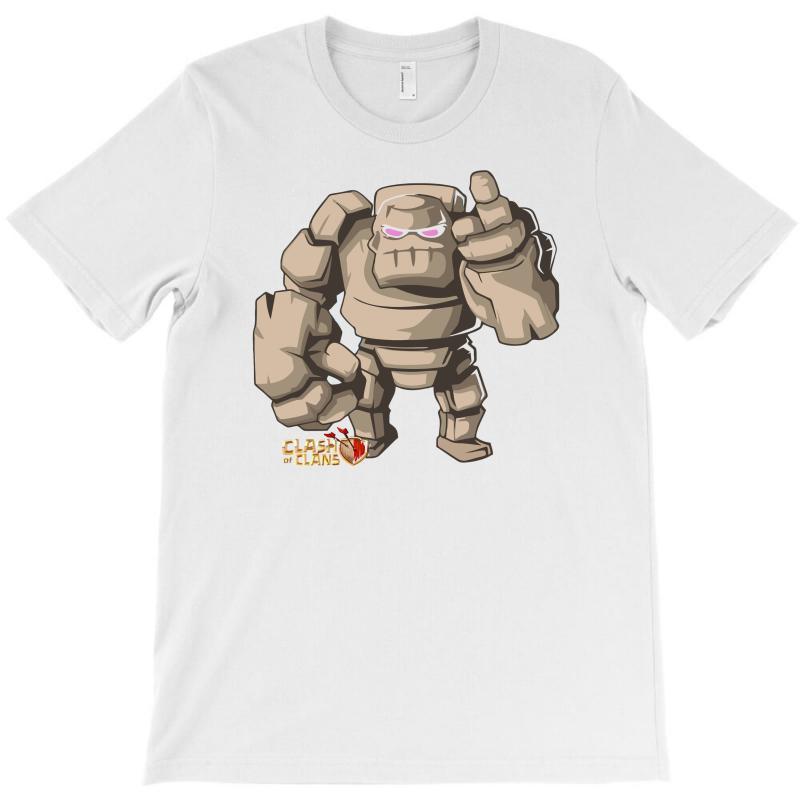 Coc Golem T-shirt   Artistshot