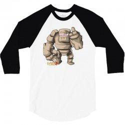 coc golem 3/4 Sleeve Shirt   Artistshot