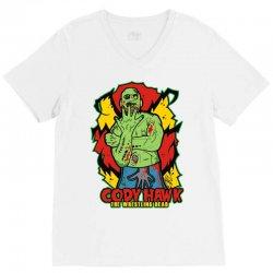 cody hawk 'wrestling dead zombie' V-Neck Tee | Artistshot