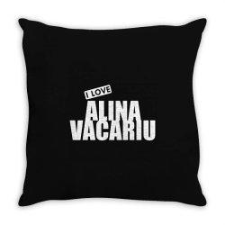 I Love Alina Vacariu Throw Pillow | Artistshot