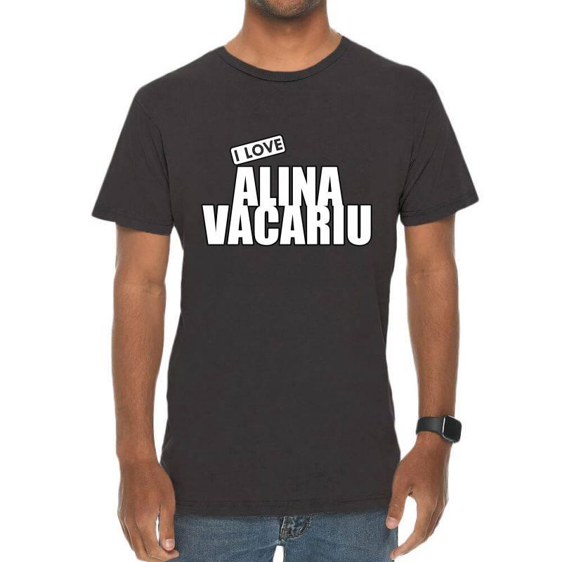 I Love Alina Vacariu Vintage T-shirt | Artistshot