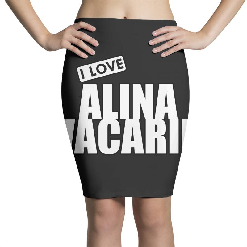 I Love Alina Vacariu Pencil Skirts | Artistshot