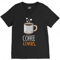 coffee lovers V-Neck Tee | Artistshot