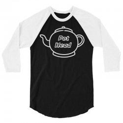 coffee pun 3/4 Sleeve Shirt   Artistshot