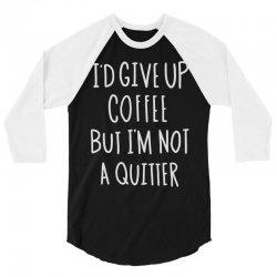 coffee tee 3/4 Sleeve Shirt | Artistshot