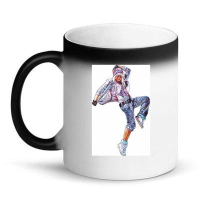 Break Dance Girl Magic Mug Designed By Coşkun