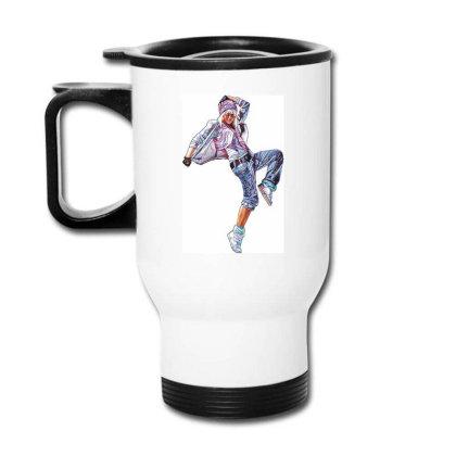Break Dance Girl Travel Mug Designed By Coşkun