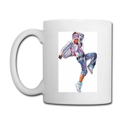 Break Dance Girl Coffee Mug Designed By Coşkun
