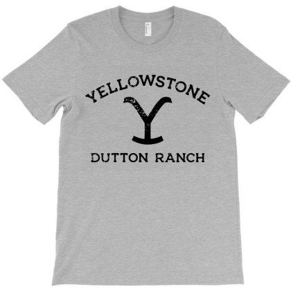 Yellowstone Black T-shirt Designed By Shirt1na