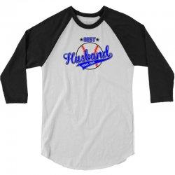 Best Husband Since 1950 - Baseball Husband 3/4 Sleeve Shirt | Artistshot