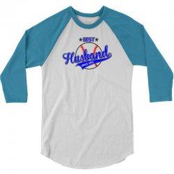 Best Husband Since 1953 - Baseball Husband 3/4 Sleeve Shirt | Artistshot