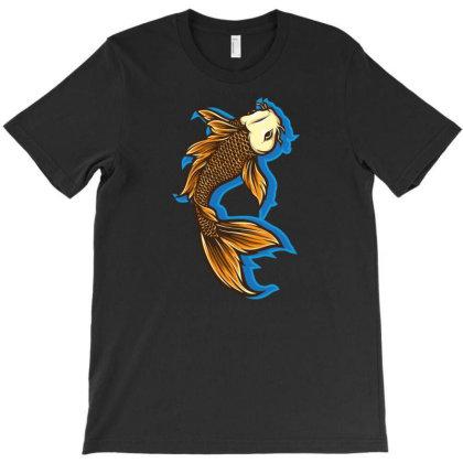 Koi Fish T-shirt Designed By Tariart