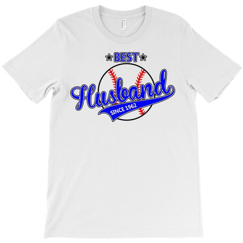Best Husband Since 1962- Baseball Husband T-shirt | Artistshot