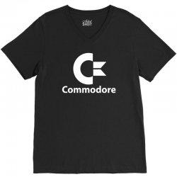 commodore V-Neck Tee | Artistshot