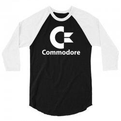 commodore 3/4 Sleeve Shirt | Artistshot