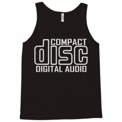 compact disc digital audio Tank Top | Artistshot