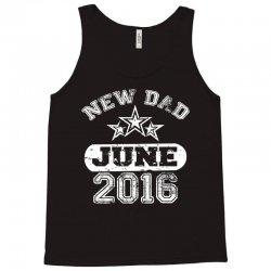 Dad To Be June 2016 Tank Top   Artistshot