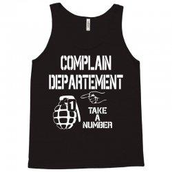 complaint Tank Top | Artistshot