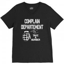 complaint V-Neck Tee | Artistshot