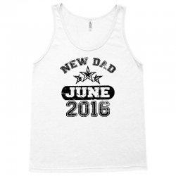 Dad To Be June 2016 Tank Top | Artistshot
