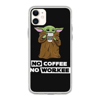 Baby Yoda No Coffee No Workee Women T Shirt Classic T Shirt Iphone 11 Case Designed By Shadowart