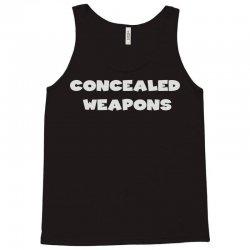 concealed weapons Tank Top   Artistshot