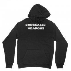 concealed weapons Unisex Hoodie   Artistshot