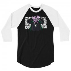 conde draco joker 3/4 Sleeve Shirt   Artistshot