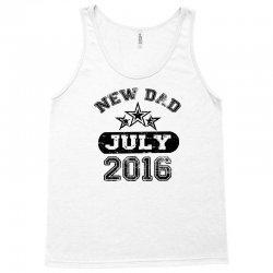 Dad To Be July 2016 Tank Top | Artistshot