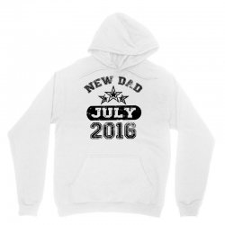 Dad To Be July 2016 Unisex Hoodie | Artistshot