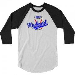 Best Husband Since 1968 - Baseball Husband 3/4 Sleeve Shirt | Artistshot