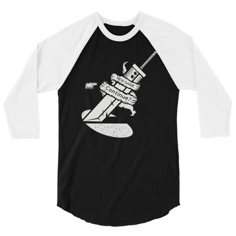 Continue 3/4 Sleeve Shirt | Artistshot