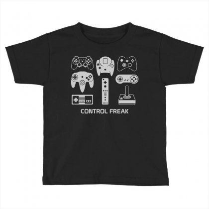 Control Freak Toddler T-shirt Designed By Monstore