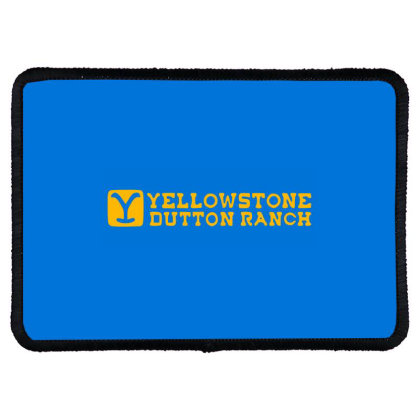 Yellowstone Tv Show Rectangle Patch Designed By Soniya Rahma