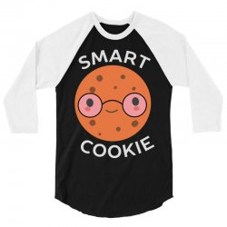 cookie is nerdy and smart 3/4 Sleeve Shirt | Artistshot