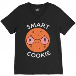 cookie is nerdy and smart V-Neck Tee | Artistshot