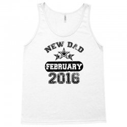 Dad To Be February 2016 Tank Top | Artistshot