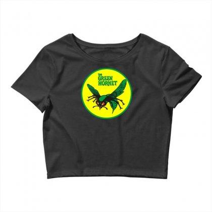 The Green Hornet Logo Crop Top Designed By Mdk Art