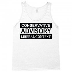conservative advisory Tank Top   Artistshot