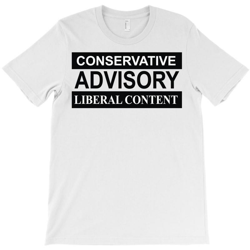 Conservative Advisory T-shirt   Artistshot