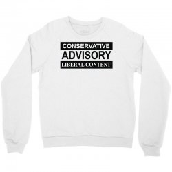 conservative advisory Crewneck Sweatshirt   Artistshot