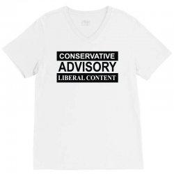 conservative advisory V-Neck Tee   Artistshot